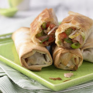Spring Rolls with Smoked Ham