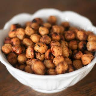 Easy Roasted Chickpeas.