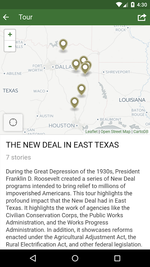 East Texas History 2.0- screenshot