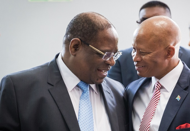 Deputy Chief Justice Raymond Zondo, left. Picture: RAJESH JANTILAL