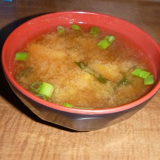 Authentic Miso Soup.