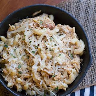 Crock Pot Italian Chicken Pasta.