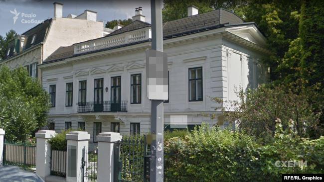 У липні розслідувачі виявили маєток у Відні майже за 6 мільйонів євро, записаний на дружину Холодова