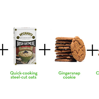 Almost-Instant Dessert-Worthy Gingersnap Oatmeal