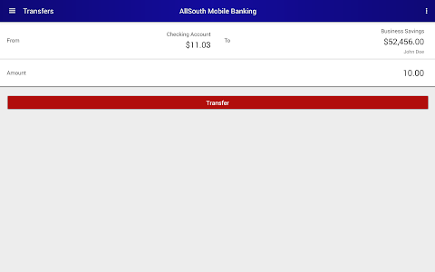 AllSouth Mobile Banking screenshot 7