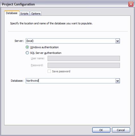 Red Gate SQL Data Generator 1 0 – Generating data for Northwind