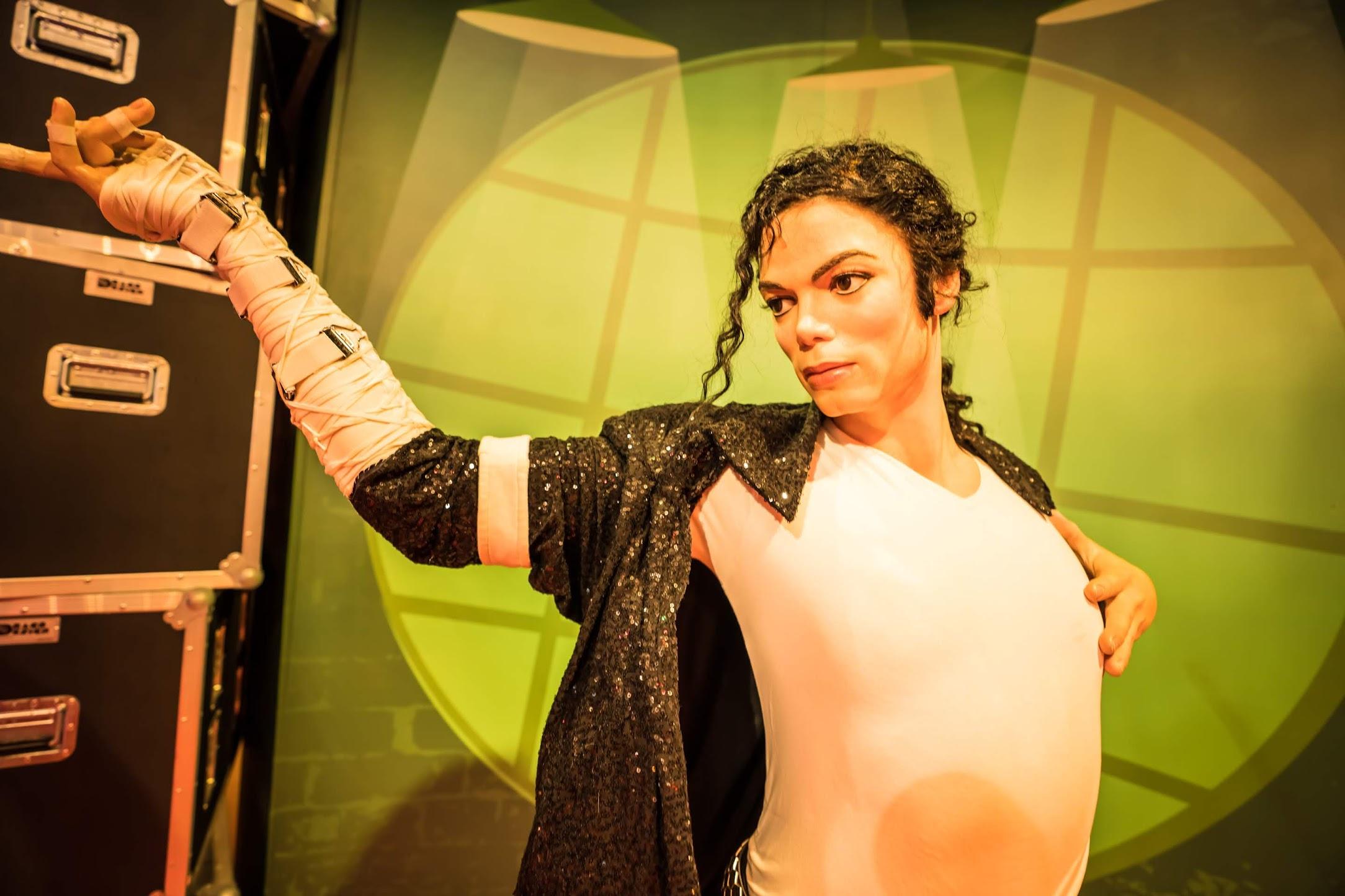 Singapore Sentosa Island Madame Tussauds Singapore Michael Jackson