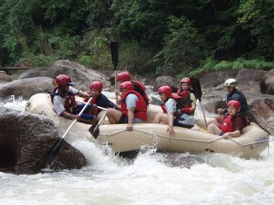 Photo Blog : Water Rafting @ Kuala Kubu Bahru