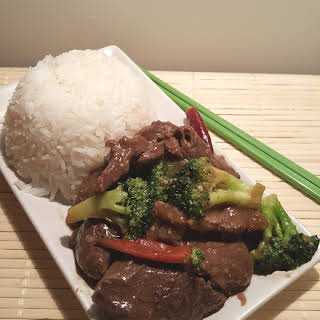 One Pot Pressure Cooker Beef and Broccoli.