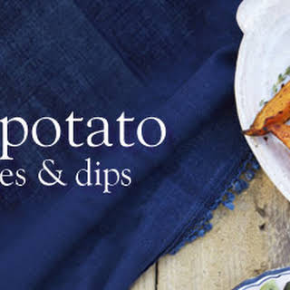Spicy Sweet Potato Wedges And Dips.