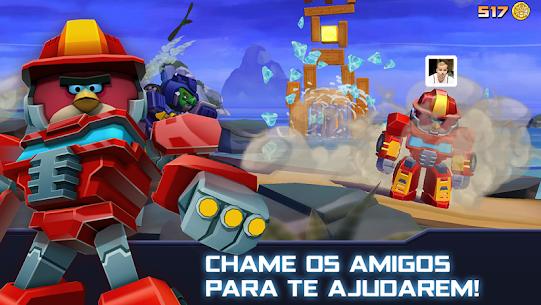 Angry Birds Transformers Apk Mod Dinheiro Infinito 3