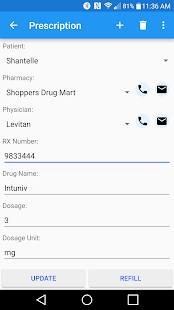 Prescription Monitor Free- screenshot thumbnail