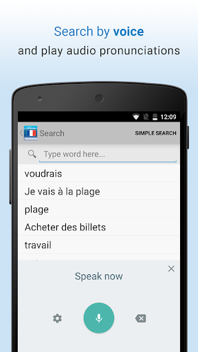 French Dictionary & Thesaurus 1.6 screenshots 2