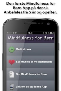 Mindfulness for Børn – miniaturescreenshot