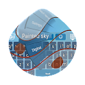 Painted sky GO Keyboard icon