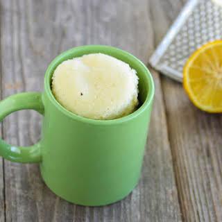 Lemon Mug Cake.
