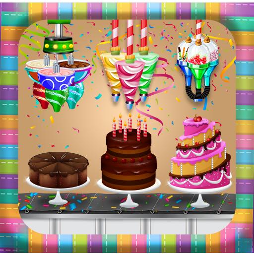 Birthday Chocolate Cake Factory: Dessert Food Game