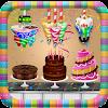 عيد ميلاد كعكة الشوكولاته مصنع: الحلوى لعبة الغذا APK