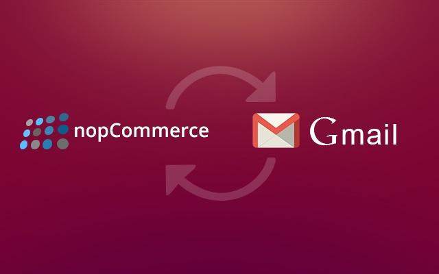 nopCommerce integration for Gmail