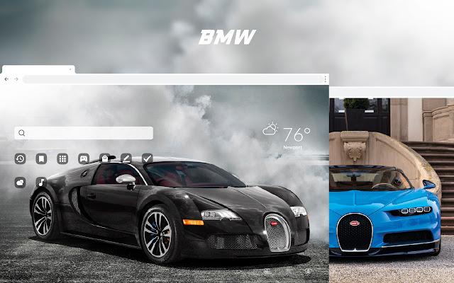 Bugatti - Super Cars Theme HD Wallpapers
