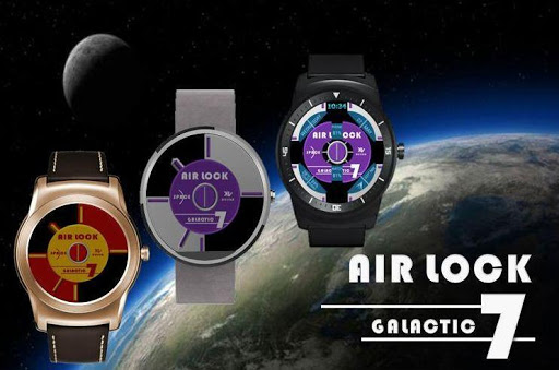 AIR LOCK 2 Watch Face