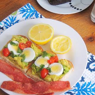 Avocado Toast with Egg.