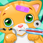Little Cat Doctor:Pet Vet Game Icon
