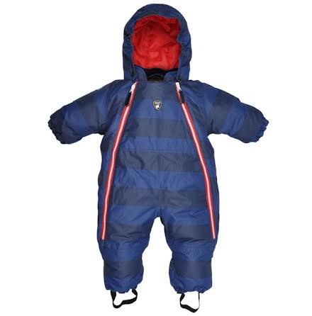Lindberg Cervinia Baby Overall, Navy/Navy