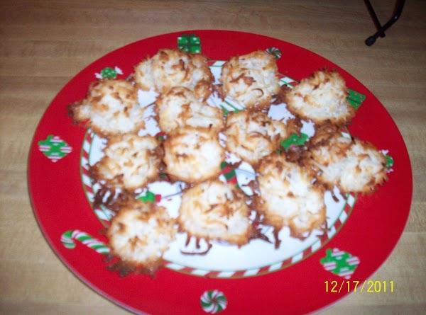 Nofail Coconut Macaroons Recipe