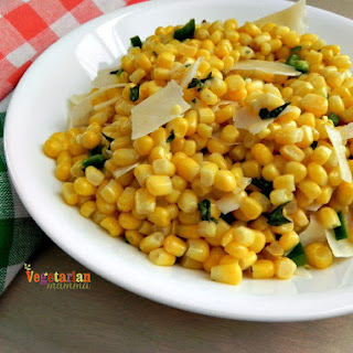 Sweet Corn With Chilies - A Great Side Dish