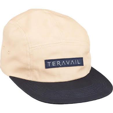 Teravail 5 Panel Baseball Cap - Khaki, Navy