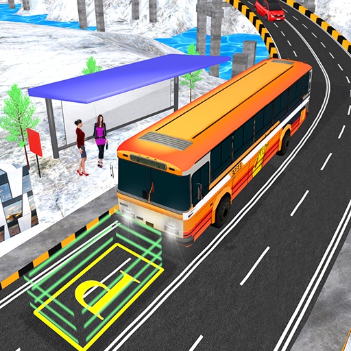 Real Up Hill Mountain Offroad Bus Simulation 2017