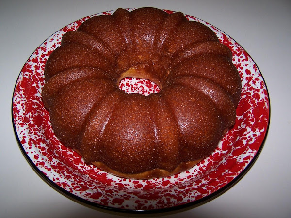 Rum Cake With Butter Rum Glaze Recipe