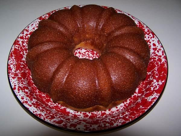 The Best Rum Cake Ever!