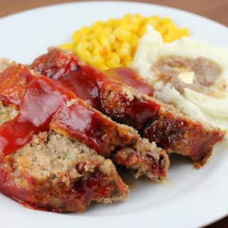 Glazed Meatloaf.