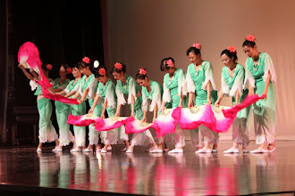 Photo: Co-host the CAGD 2012 Mid Autumn Gala. Scene 2. Team performance from our school.