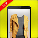 Woman Jacket Fashion Suit icon