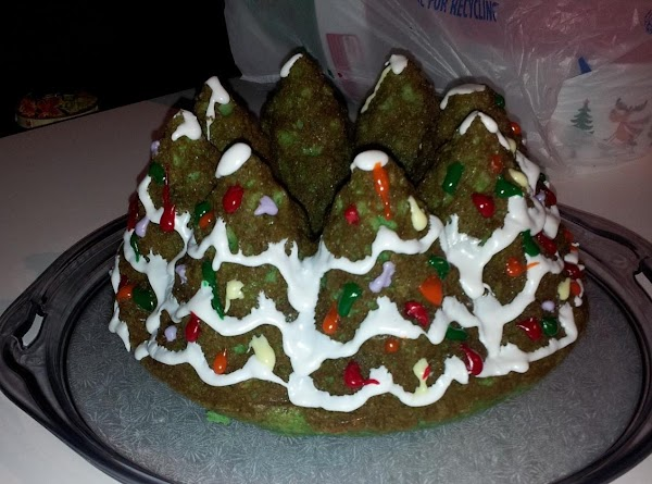 Almond Cake (christmas Tree Shaped) Recipe