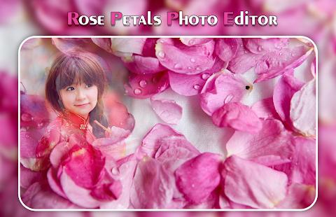 Rose Petals Photo Frame - náhled