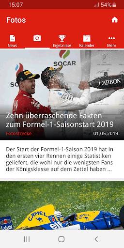 Formel1.de  screenshots 3