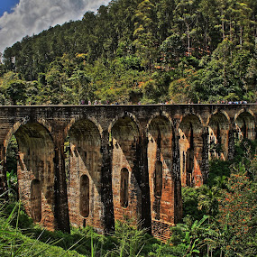 9 arch bridge by Jorrit Prmt - Buildings & Architecture Bridges & Suspended Structures ( ella, sri lanka, train )