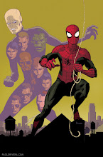 Photo: AVENGING SPIDER-MAN #21 COVER. 2013. Ink(ed by Joe Rivera) on Marvel board, 11 × 17.25″.