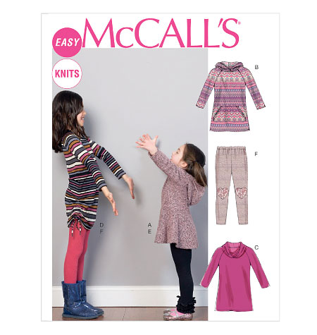 M6785, Children's/Girls' Dresses and Leggings