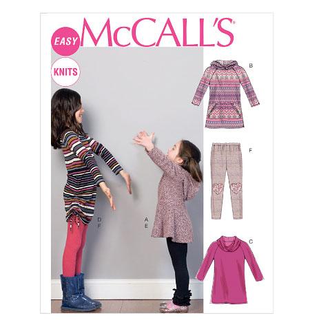 M6785, Children's/Girls' Dresses and Leggings