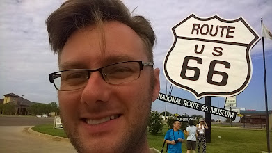 Photo: August 9-The NATIONAL Route 66 Museum is in Elk City, OK.  It was kind of charming, but a bit underwhelming.