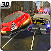 Criminal Police Car Chase 3D👮