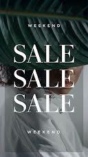 Weekend Sale - Video item