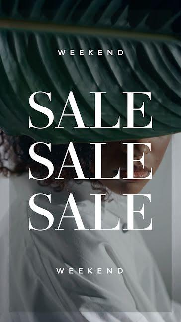 Weekend Sale - Video Template