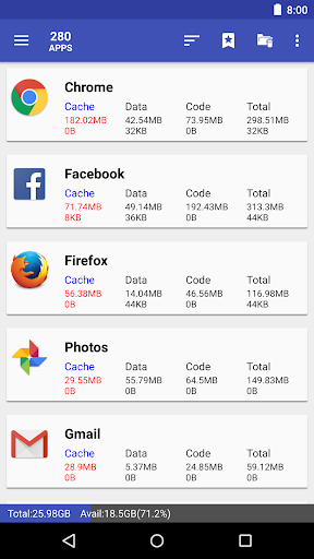 1Tap Cleaner (clear cache, and history log) 3.58 screenshots 2
