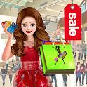 Girl Shopping Mall: Cash Register Simulator icon